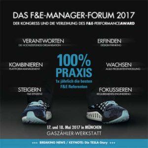 Programmheft F und E Manager Forum 2017 - Impressionen aus dem letzten Manager-Forum in Muenchen