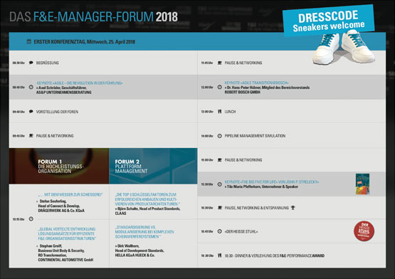 F und E Manager Forum 2018 - aktuelle Agenda - Axel Schröder